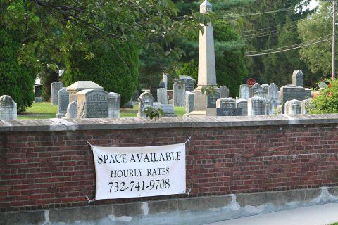 Cemetery overcrowding Sea Bright NJ politicians, Dina Long, dead people,